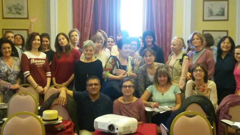 Tutto il nostro gruppone del seminario di Gabriella Sonnewald su salute e sicurezza sul lavoro